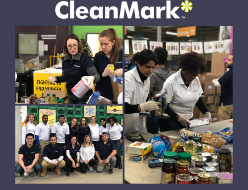CleanMark Community Steps Up: Staff Members Help Sort Food at the Daily Bread Food Bank
